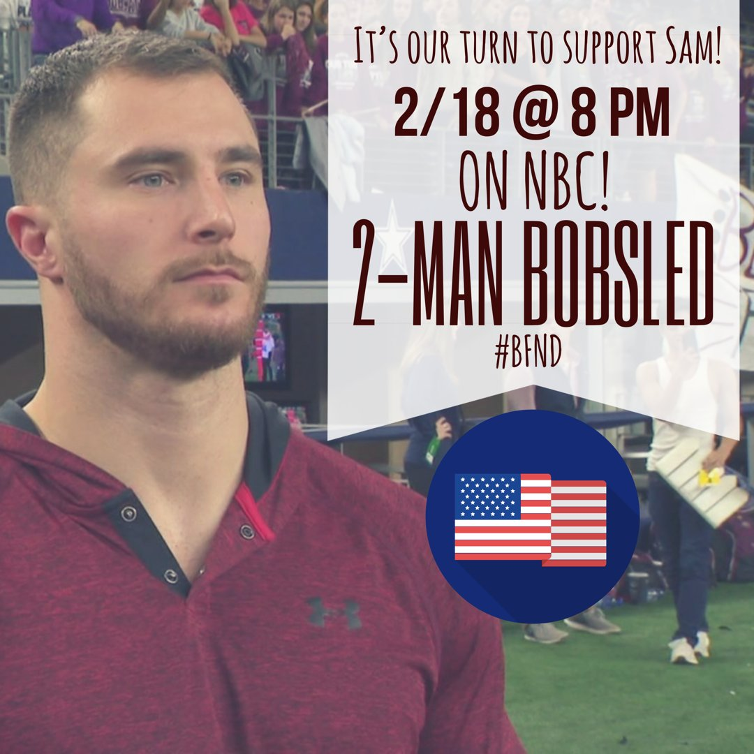 Looking forward to cheering on Cypress native @Sam_mcguffie in the 2-man bobsled tonight!  Go get 'em Sam!  #goldsledder #bfnd #txlege
