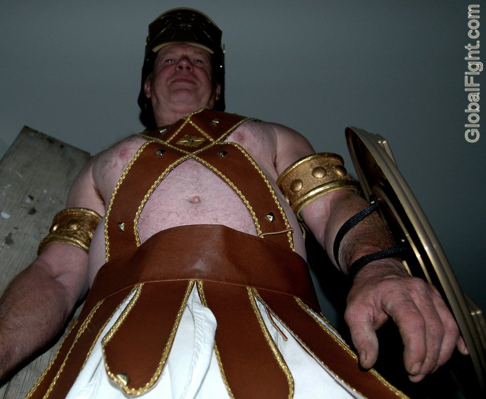 Roman centurion gladiator spartan armour toga deluxe quality fancy dress new