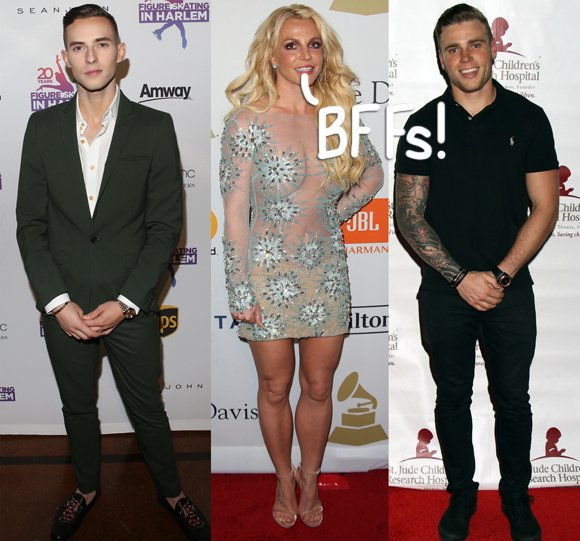 Seriously jealous of #BritneySpears and her new BFFs, #GusKenworthy and #AdamRippon: https://t.co/ucSrv7ZGoi #swoon