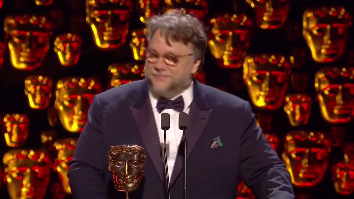 Watch 👀 Guillermo del Toro accepting the...