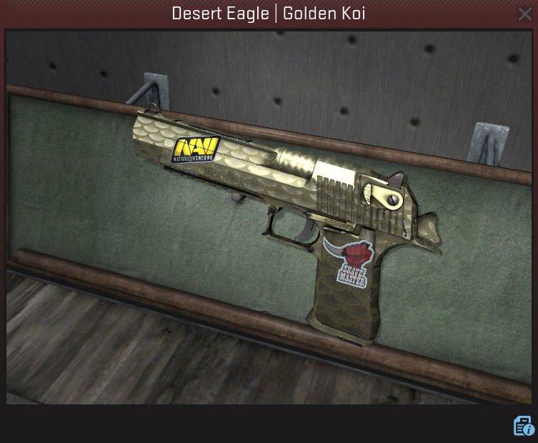 golden koi deagle