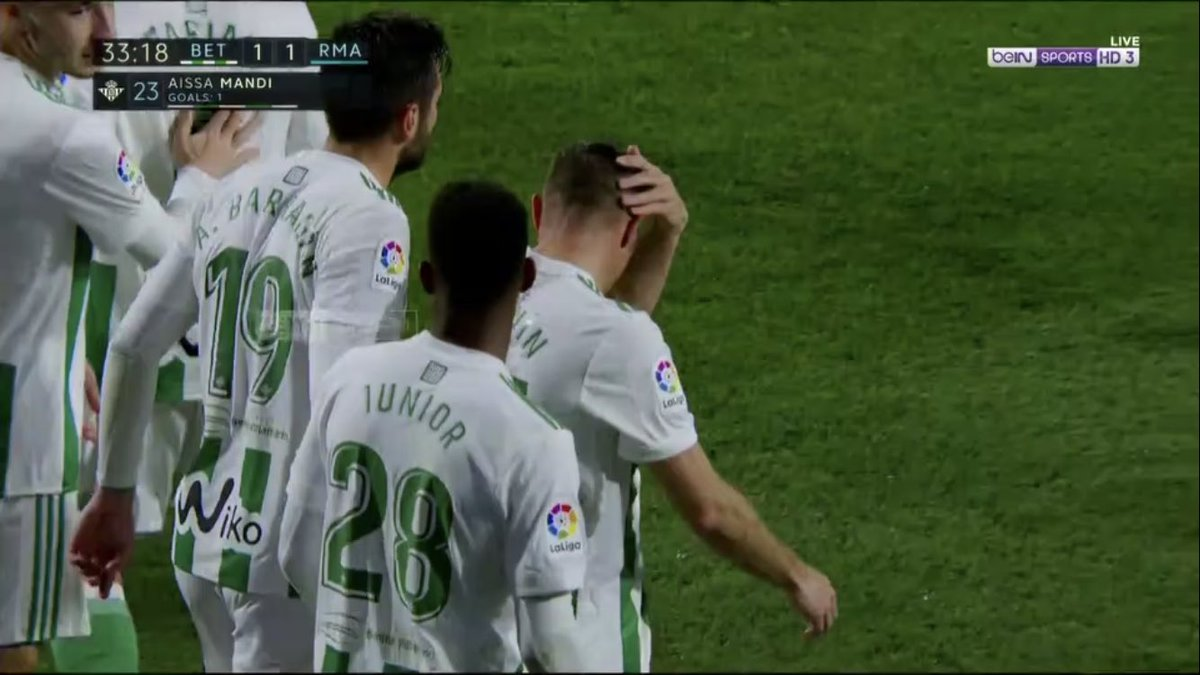 هدف ريال بيتيس الأول فى شباك ريال مدريد - عيسى مندي
