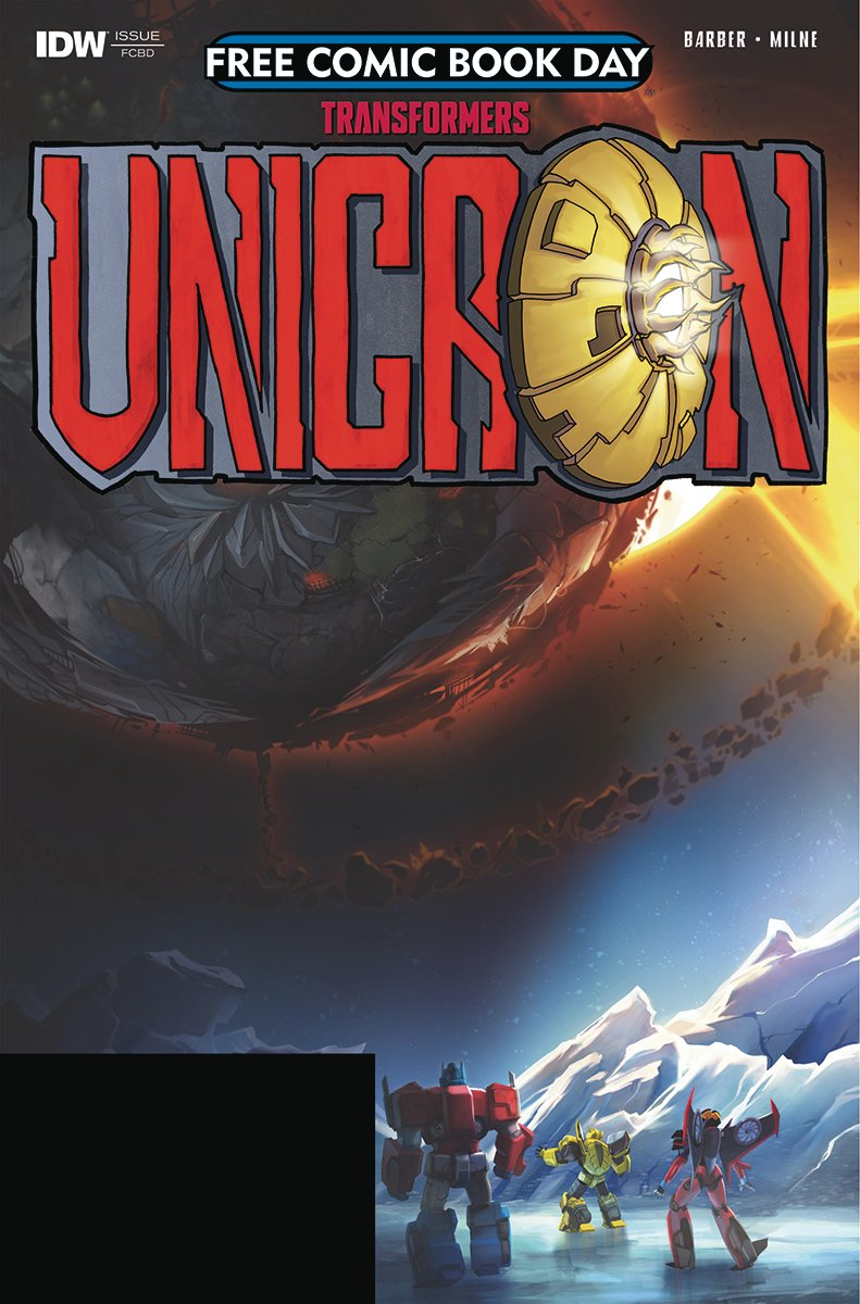 IDW Free Comic Book Day 2018 – Unicron #0 -Preview