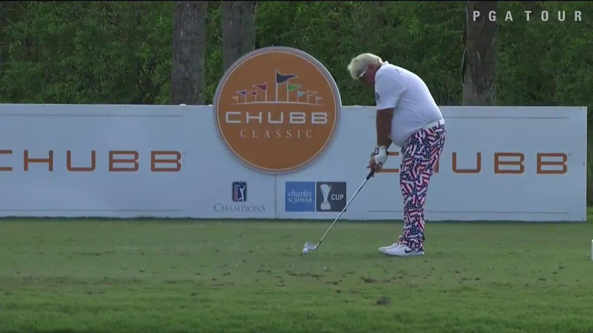 ????Hole-in-One???? @PGA_JohnDaly with an ace @ChubbClassic!