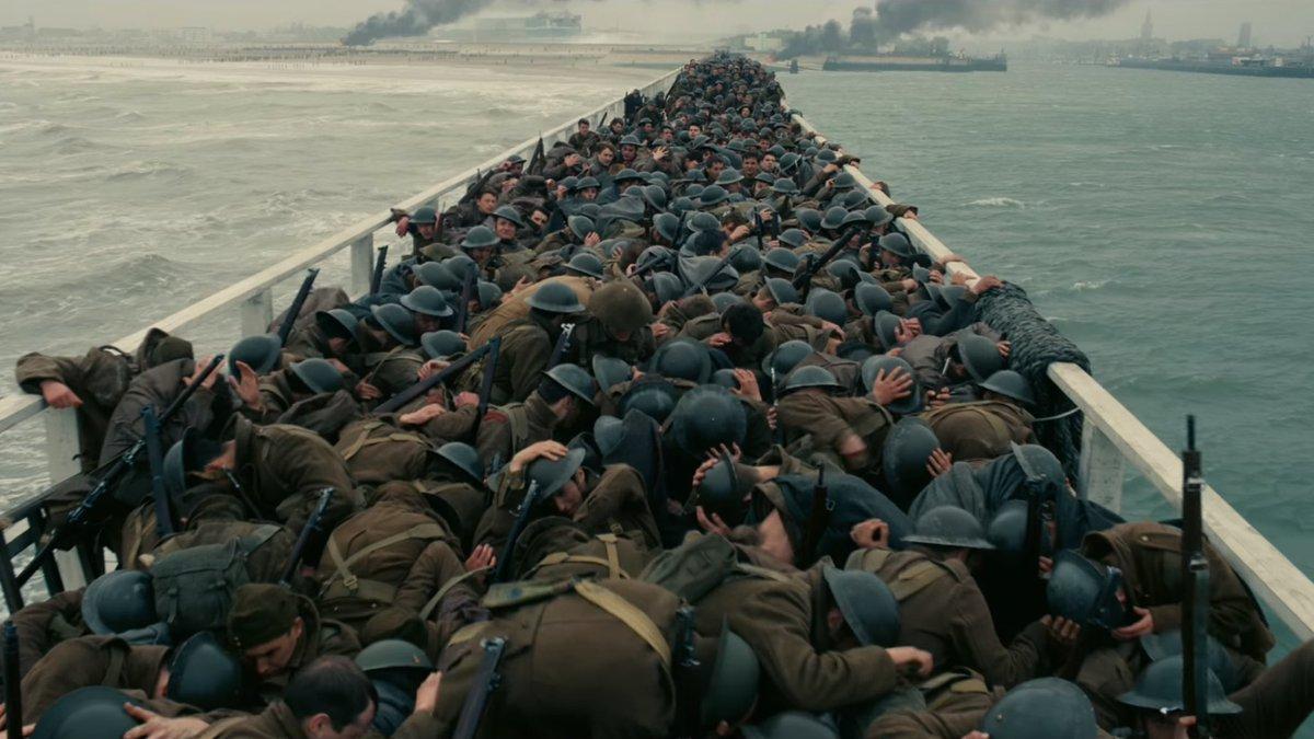Dunkerque 👉🏻mejor sonido   #BAFTA  de mo...