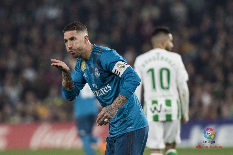 هدف ريال مدريد الثاني فى شباك بيتيس
