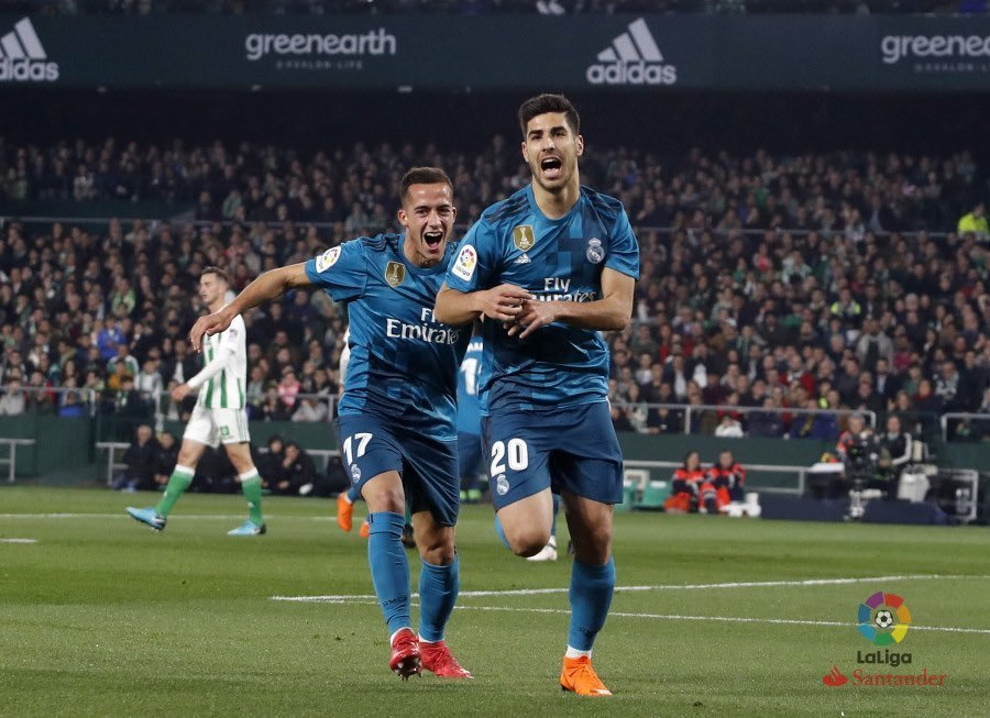 هدف ريال مدريد الثالث فى شباك بيتيس - أسينسيو