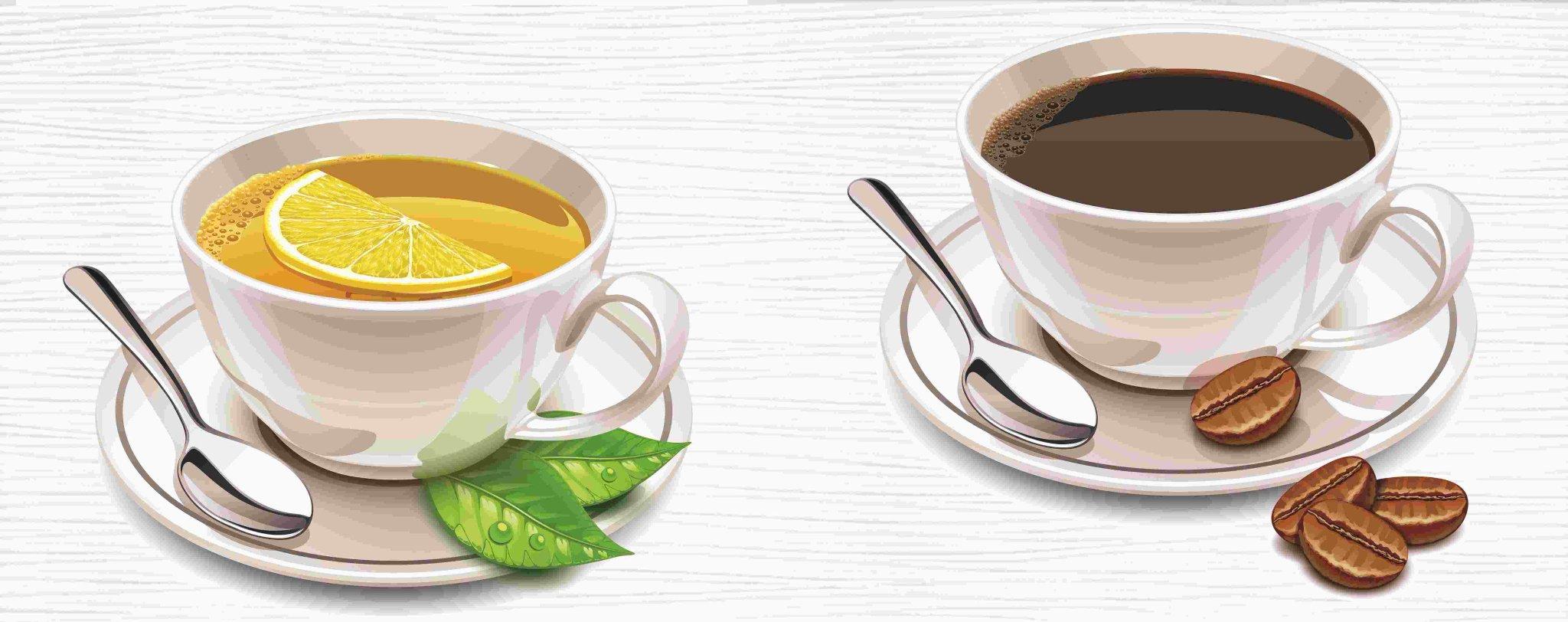 Картинки с изображением кофе и чая, добрым