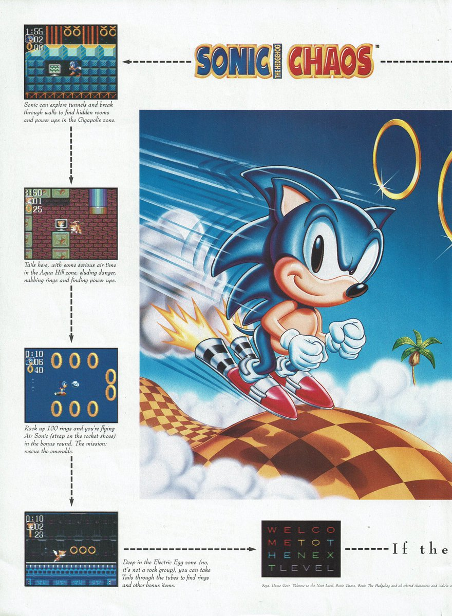 Videogameart Tidbits On Twitter Sonic The Hedgehog Chaos 2