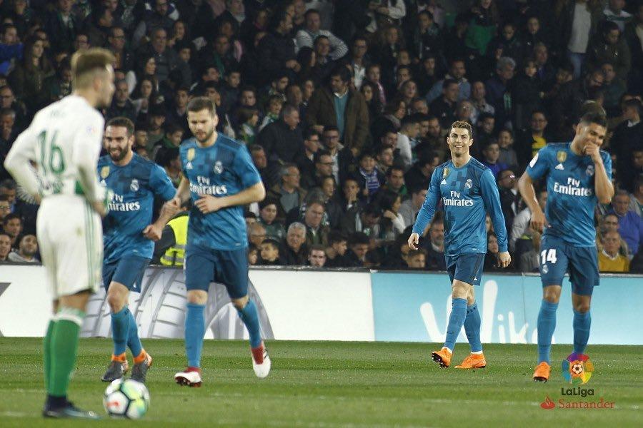 أهداف المباراة المثيرة بين ريال مدريد وريال بيتيس