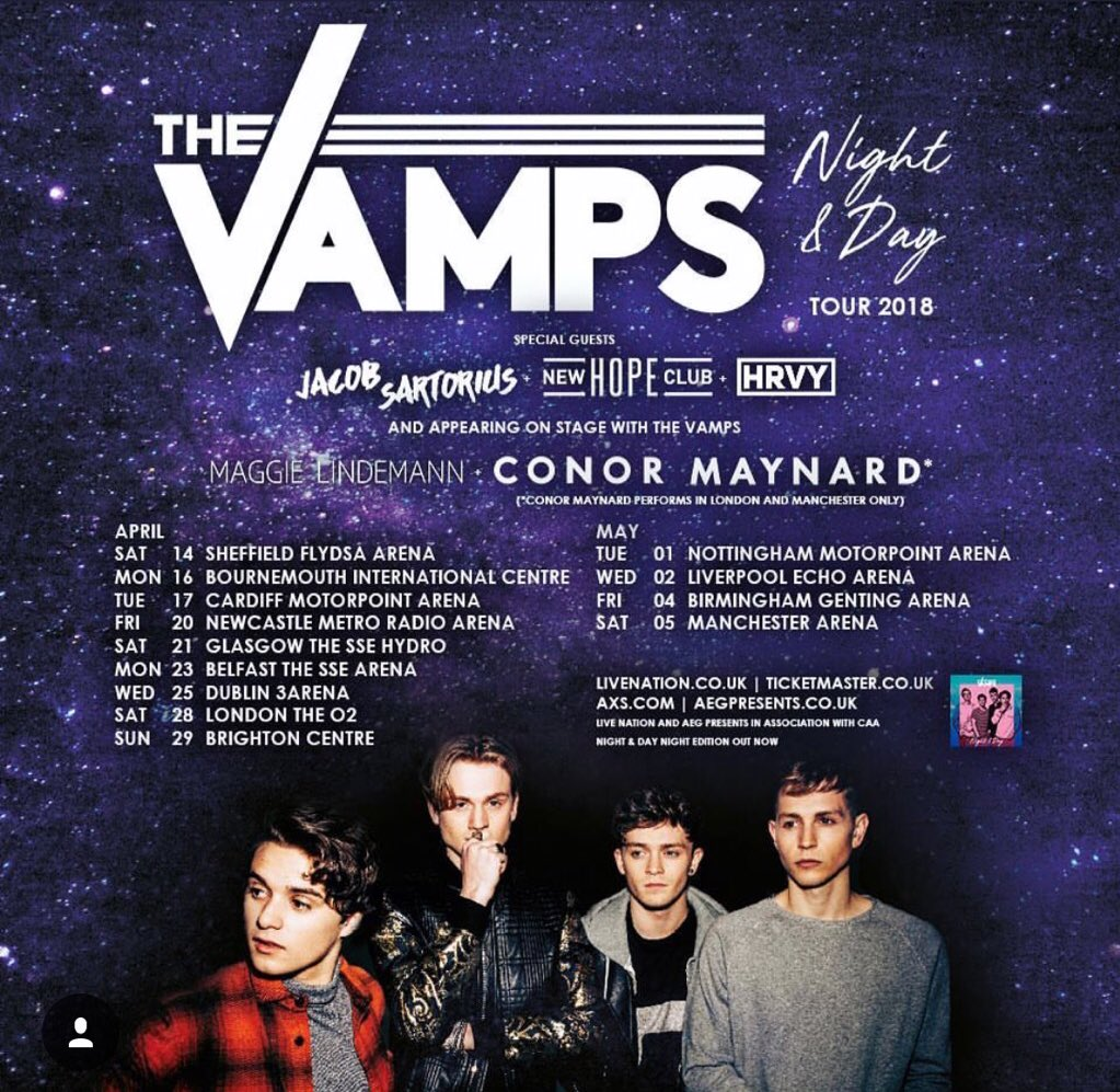 I'm way to excited @TheVampsband