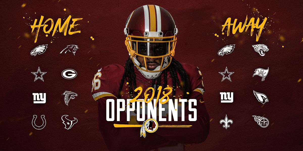 �� on 2018  #Redskins opponents: https://t.co/sOu43cS2V0 https://t.co/1pzRbGMESa