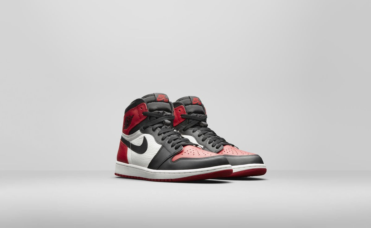 e1b34672aa81f0 Air Jordan 1 Retro High OG  Bred Toe   215 Releasing in-store FCFS on February  24th. These are limited