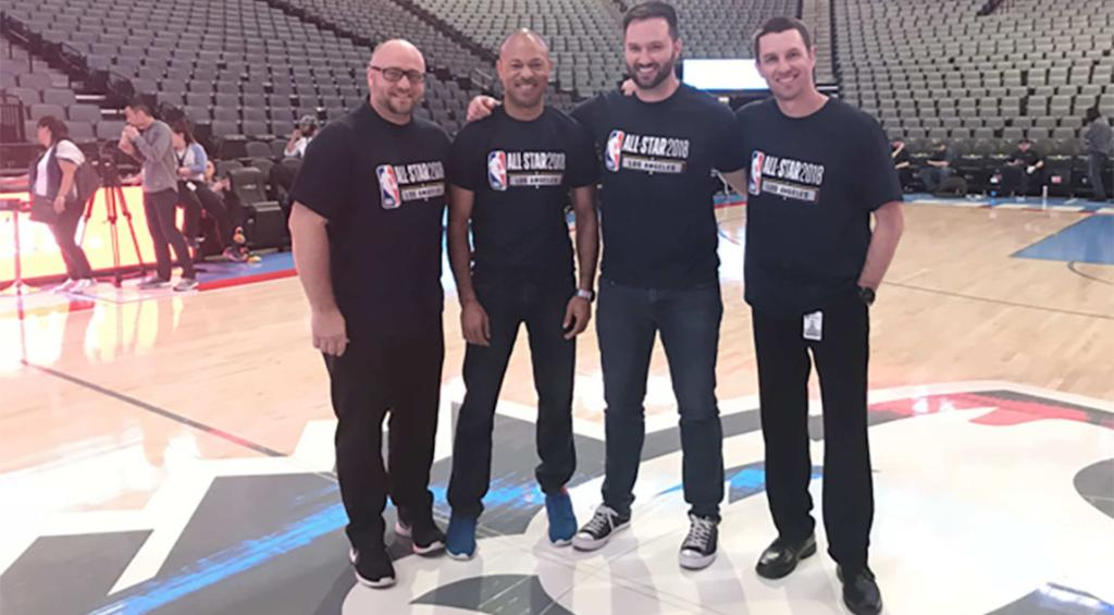 Sacramento's entertainment squad will be running the show for tonight's #NBAAllStar game! 🎥🎤 » https://t.co/JOR7b8ggh2