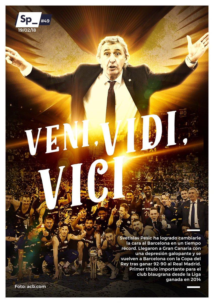 #PortadaSp_🗞 VENI, VIDI, VICI https://t.co/YGZlIuhQyZ
