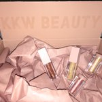 Package time✨ My Ultralight Beams have arrived!! They are absolutely beautiful and I'm loving this packaging!😍😍 I'm so excited to use them❤️❤️ @kkwbeauty @KimKardashian #KKWBeauty