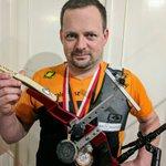 Image for the Tweet beginning: Won the Vienna Indoor Archery