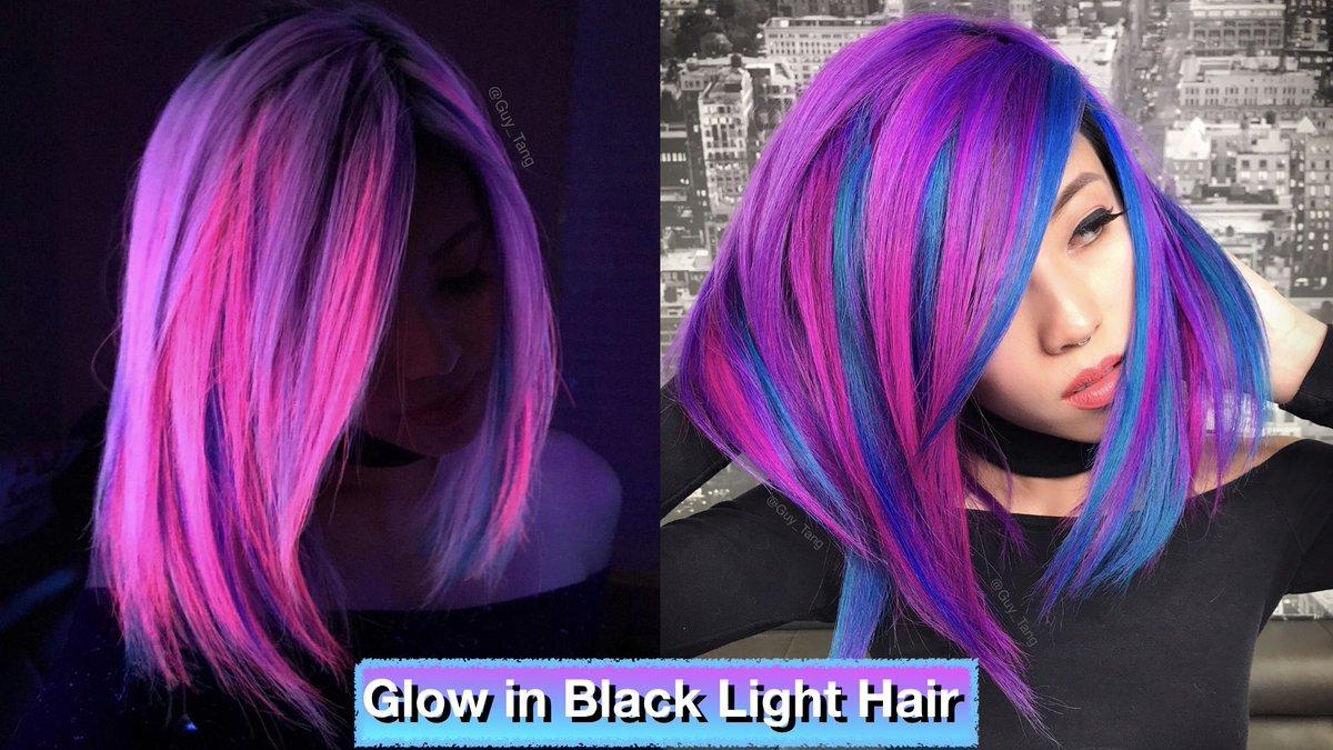 Guy Tang On Twitter Hairbesties Glow In Black Light Hair Youtube