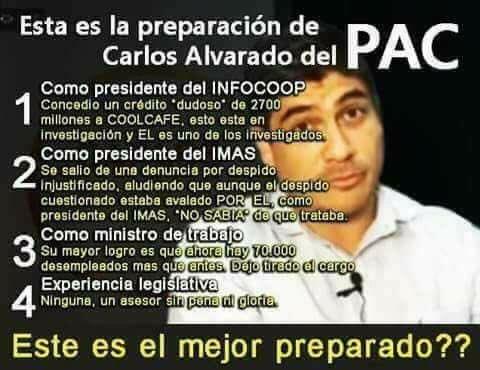 Entonces la preparación de @CarlosAlvQ h...