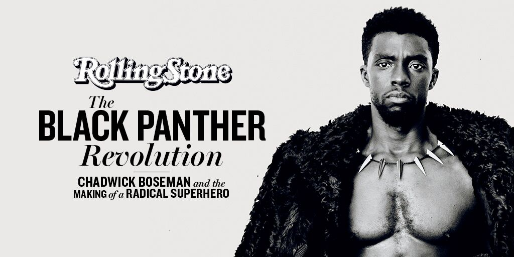 #BlackPanther star Chadwick Boseman appears on our cover. Here's how he and Ryan Coogler created the most radical superhero movie of all time https://t.co/yNTgjp8mN3