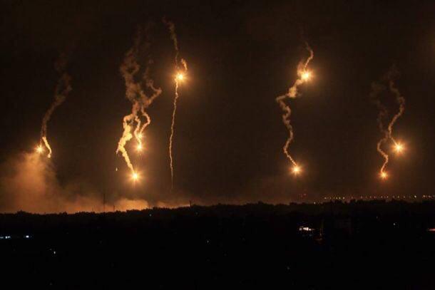 Gaza. Right now. Carnage. May God help them #Gaza #Palestine #Jerusalem