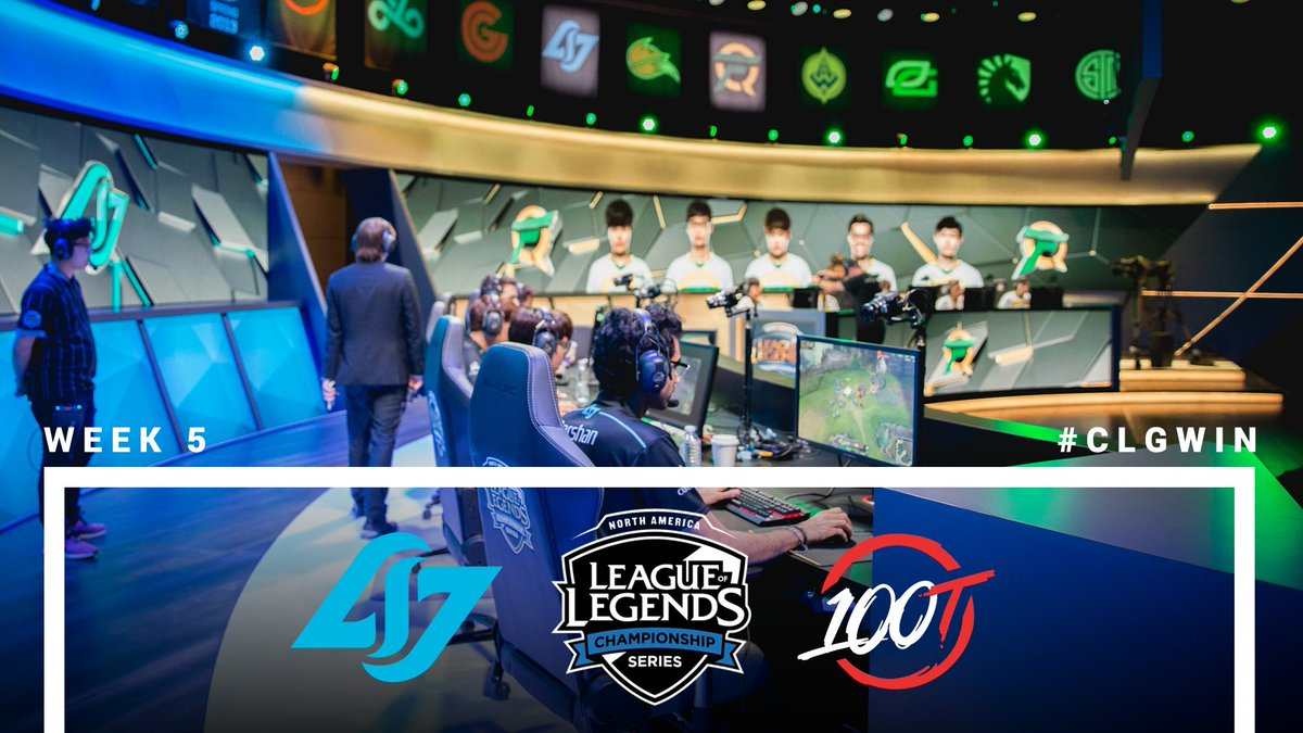 Our rematch vs @100Thieves starts now! Let's take that win back from the thieves. 🔥 #CLGWIN #CLGFIGHTING  https://t.co/4AnsCfRcXN