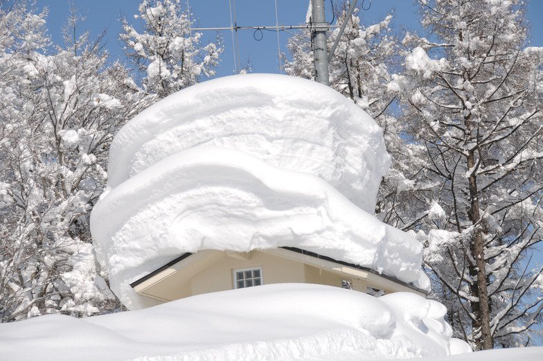 поздравления много снега стоит