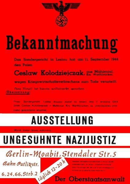Studenten gegen Nazi-Richter: Die Ausstellung 'Ungesühnte Nazijustiz', eröffnet heute vor 58 Jahren, wurde zum Riesenskandal. Berliner Studenten zeigten, wie viele frühere NS-Richter Platz in der westdeutschen Nachkriegsjustiz fanden (@einestages-Archiv) https://t.co/WeNq8Uwhve