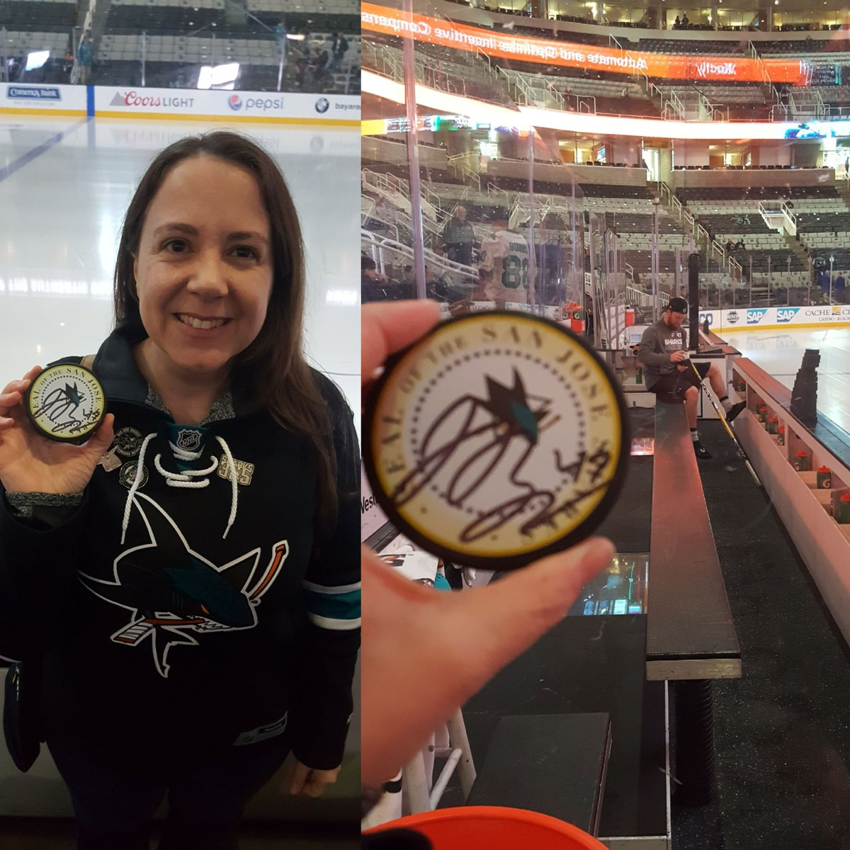 @SharksCare So pumped to get this @JoakimRyan #MysteryPuck #SJSharks <br>http://pic.twitter.com/axCELQetvv
