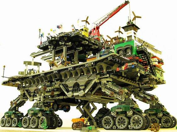 Lego traction city.