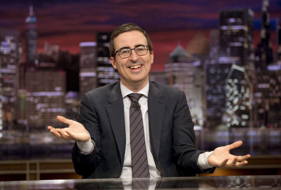 Watching John Oliver repeatedly say 'we' & 'us' when discussing America is comical.  Mate, you were born in the Midlands to a pair of Liverpudlian parents & speak in a thick Brummie accent.  You're about as American as cricket & mushy peas, you shameless old fraud!