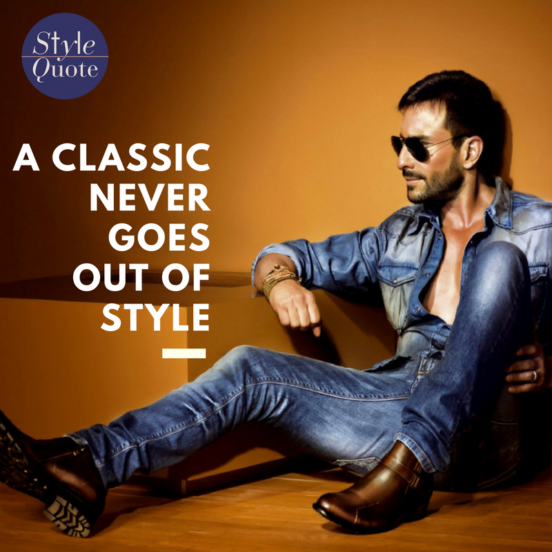 a classic never goes out of These iconic looks withstand the test of time.