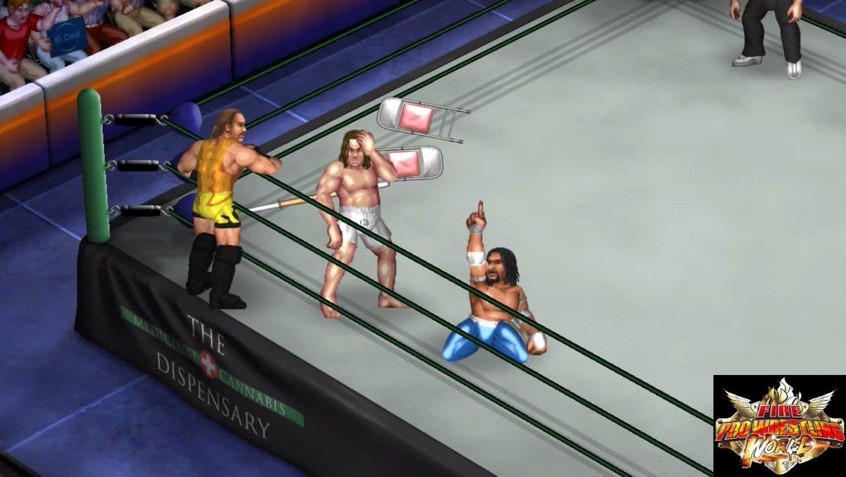 Fire Pro Wrestling World video game: Rob Van Dam & Sabu vs. Matt Riddle & Jeff Cobb youtube.com/watch?v=W98-vb… #FireProWorld #FireProWrestling #FirePro #FireProWrestlingWorld