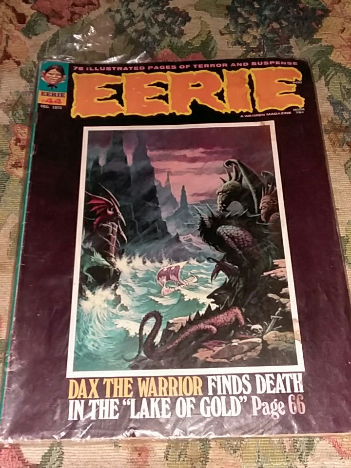 @sfrank760 the Eerie is no 44 and the cr...