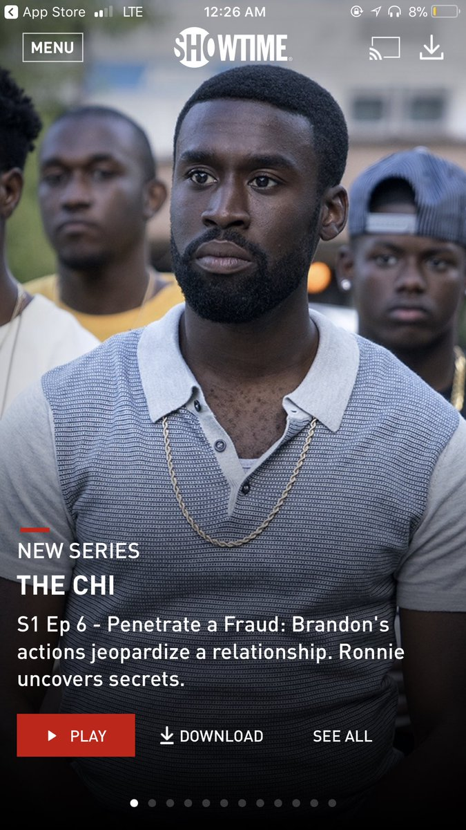 Once again #TheChi delivered #NextWeekAw...
