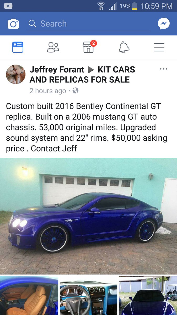 Tavarish On Twitter As It Turns Out Ing A 50 000 Bentley Replica Is Little Difficult