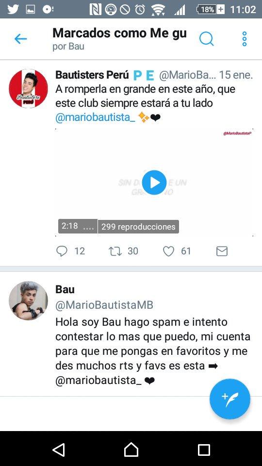 Mario ya vio el video de Bautisters Perú...