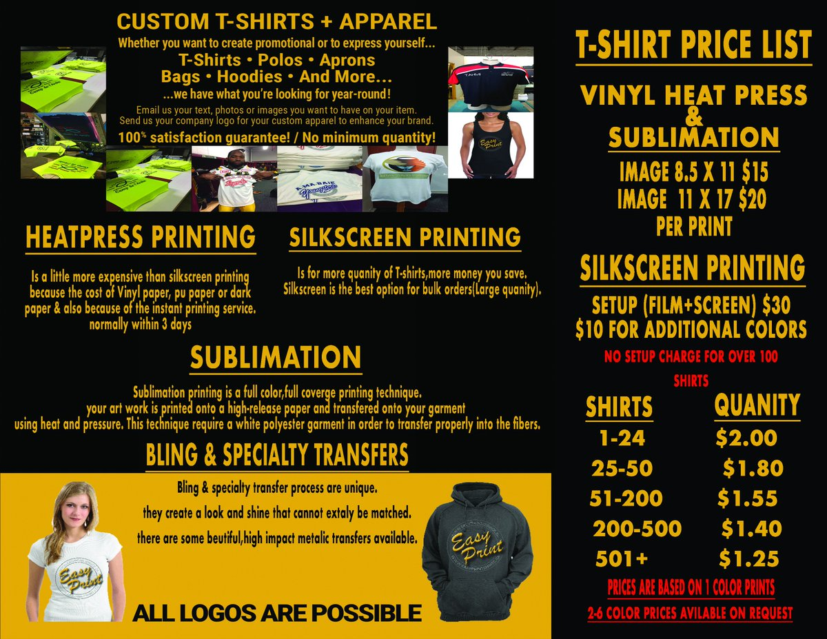 ddb660e152bd Custom T Shirts Price List - DREAMWORKS