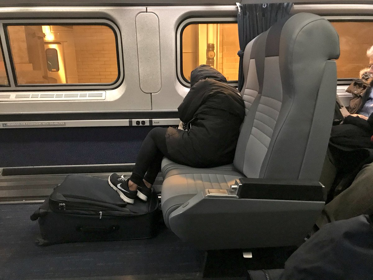 "The official, ""I'm Tired but also, You Ain't bout to steal my shit"" seat position"