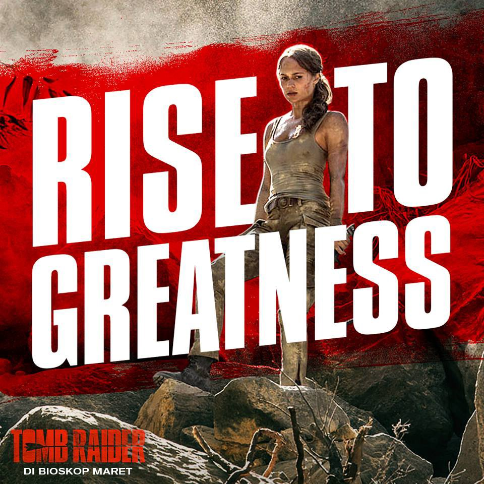 Rise above the rest. #TombRaider https:/...