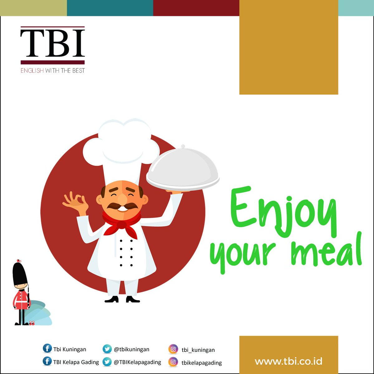 TBI Kuningan On Twitter Its Break Time Have A Good Lunch