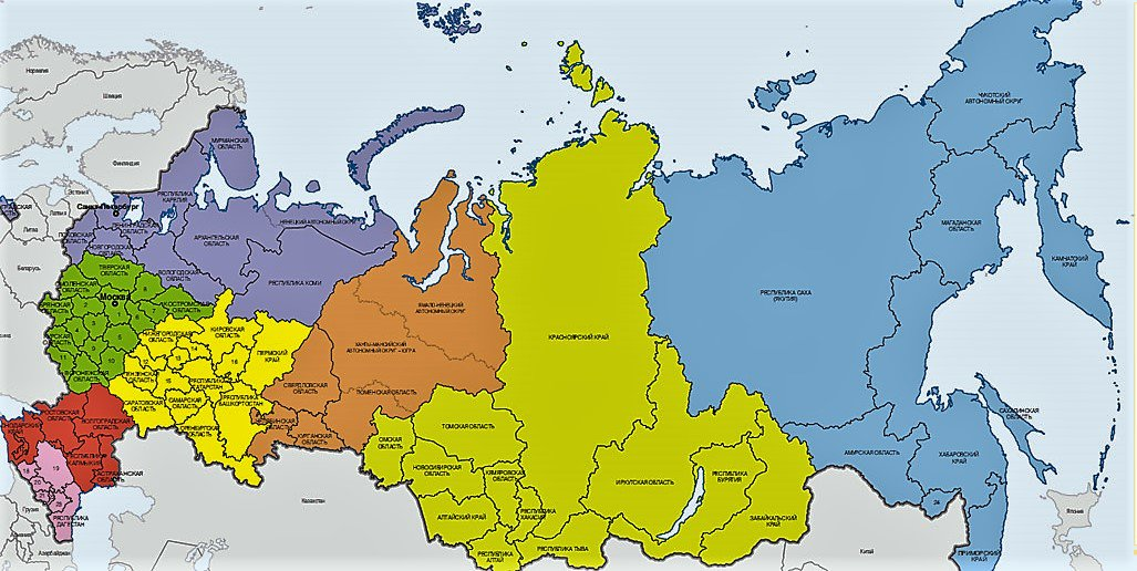 области в россии