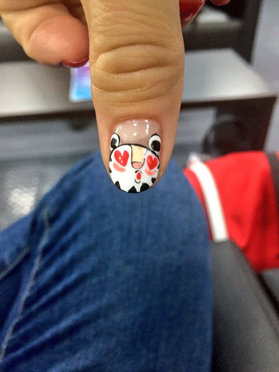 Nailart hashtag on twitter cool olympicwintergames nail art pyeongchang18 nailart olympicmascot nails fancypicitteryhuj1b0ysj prinsesfo Image collections
