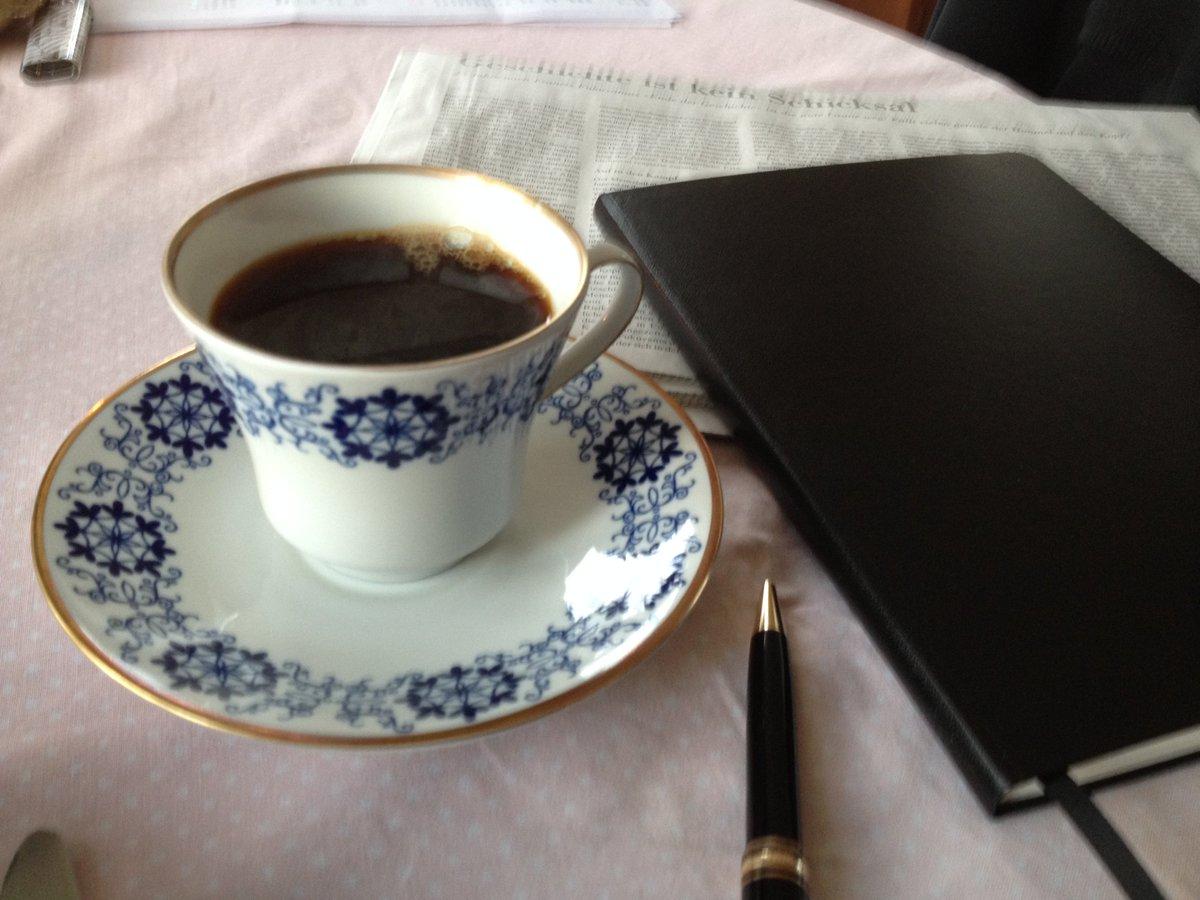 Ich habe #Kaffee gemacht - für Sie auch...