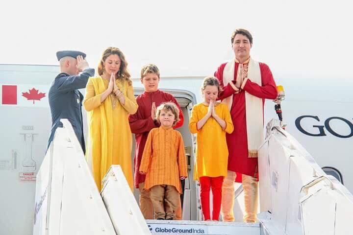 કેનેડાના વડાપ્રધાન પરિવાર સાથે ગુજરાત પ્રવાસે, ગાંધીઆશ્રમ અને અક્ષરધામ મંદિરની લીધી મુલાકાત