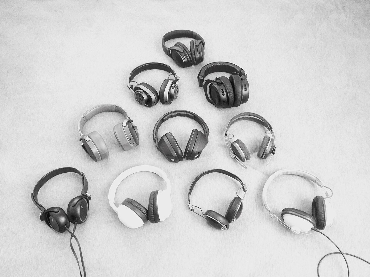 dennis chow's headphones collection