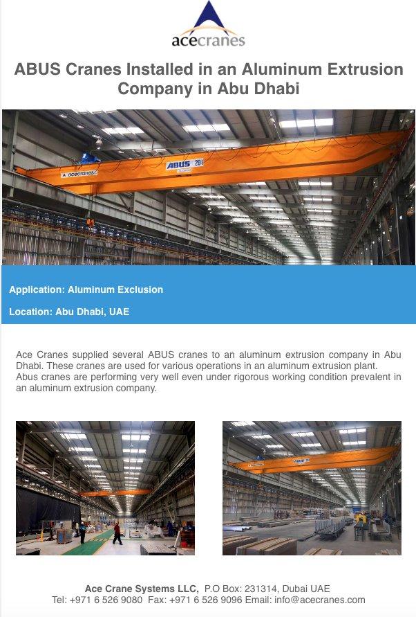 ACE Cranes Dubai UAE on Twitter: