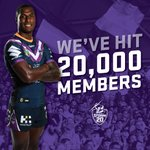 What an effort @Melbourne! 20,000 members!   Thank you for your continued support! - https://t.co/LH2eM8TFTp #purplepride