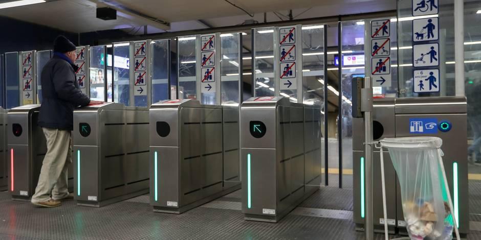 #Greve à la #STIB : aucune ligne de #metro n'est exploitée à #Bruxelles https://t.co/b53f7UHR42
