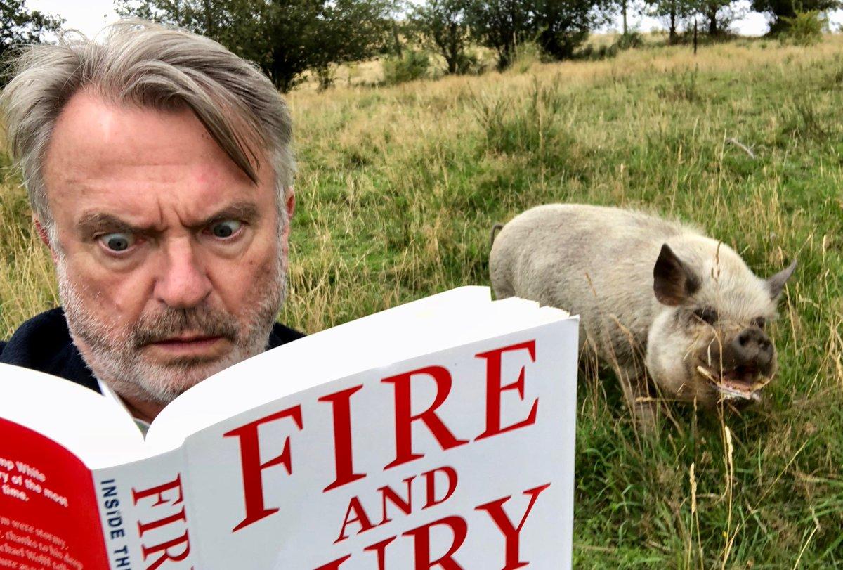 We've been reading #FireAndFury - Inside...
